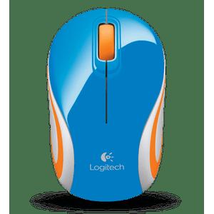 Mini-Mouse-Wireless-M187-Azul-e-Laranja-Logitech