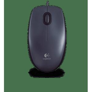 Mouse-M100-Optico-com-fio-USB-Logitech