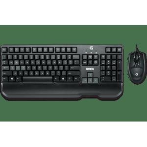 Telcado-e-Mouse-GAMING-COMBO-G100S-Logitech