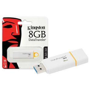 Pen-Drive-8GB-DataTraveler-Usb-3.0-2.0-Amarelo-Kingston-