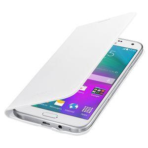 Capa-Protetora-Flip-Wallet-Branca-Galaxy-E7-Samsung