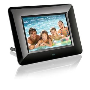 Porta-Retrato-Digital-Preto-Tela-LCD-com-7-polegadas-Multilaser-P3109