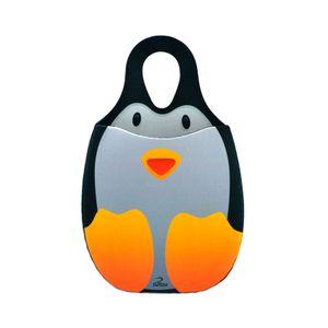 Lixeira-para-Carro-em-Neoprene-Pinguim-Reliza