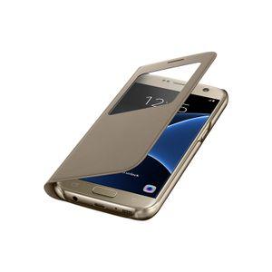 Capa-S-View-Dourado-Galaxy-S7-Samsung