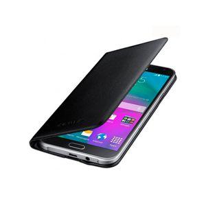 Capa-Flip-Wallet-Cover-Galaxy-E7-Preta-Samsung