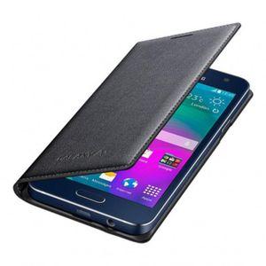 Capa-Flip-Wallet-Cover-Galaxy-A3-Preta-Samsung