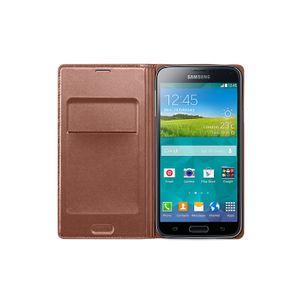 Flip-Wallet-Galaxy-S5-Bronze