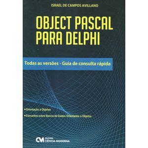 Object-Pascal-para-Delphi-Todas-as-Versoes-Guia-de-Consulta-Rapida
