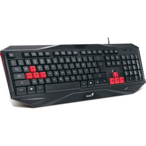 Teclado-Gaming-USB-Preto-e-Vermelho-Genius-KB-G200