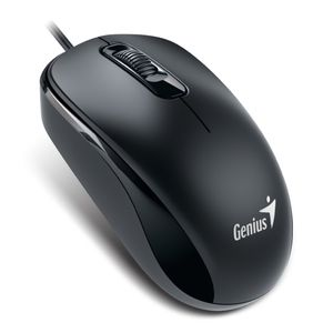 Mouse-Optico-com-Fio-USB-Preto---Genius-DX-110