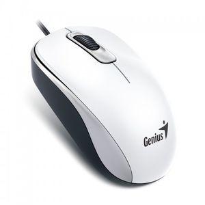 Mouse-Optico-com-Fio-USB-Branco-Genius-DX-110