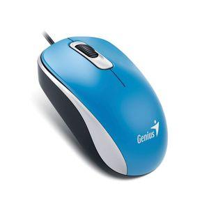 Mouse-Optico-com-Fio-USB-Azul-Genius-DX-110