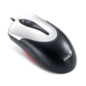 Mouse-Optico-com-Fio-USB-Preto-e-Prata-Genius-NS-110