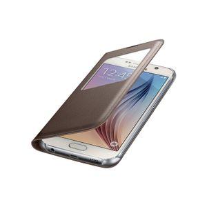 Capa-S-View-Cover-Galaxy-S6-Dourada---Samsung-EF-CG920PFEGBR