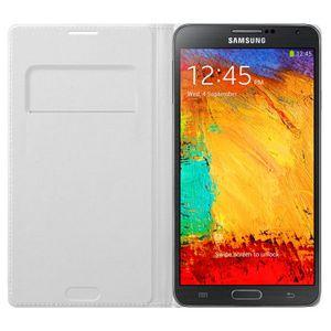 Capa-Flip-Wallet-Galaxy-Note-3-N9005-Branca---Samsung-EFWN900BWE