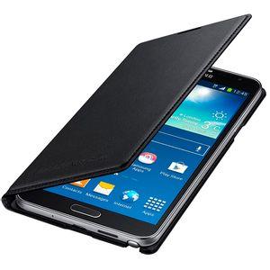 Capa-Flip-Wallet-Galaxy-Note-3-Neo-Preto---Samsung-EFWN750BBE