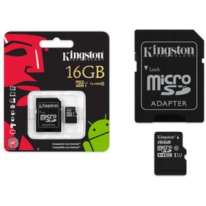 Cartao-de-Memoria-Micro-SD-16GB-Class-10---Adaptador-SD---Kingston-KC-C3016-4V1