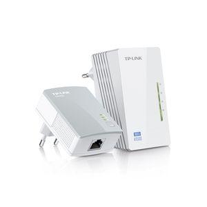 Kit-Extensor-de-Alcance-WiFi-Powerline-Edicao-300Mbps-WiFi-e-AV-500Mbps-TP-Link-TL-WPA4220KIT