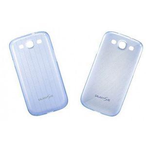Capa-de-Silicone-Slim-Cover-Azul-para-Galaxy-S3-com-2-Samsung-EFC-1G6SBECSTD