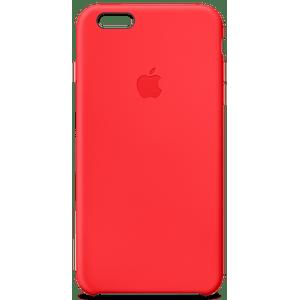 Capa-Para-iPhone-6-Plus-Silicone-Vermelho-Apple-MGRG2BZ-A