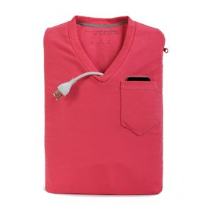 Capa-para-iPad-e-Tablet-10-Camisa-V-Neck-Rosa-Computer-Apparel-CA-VNIPAD-PK