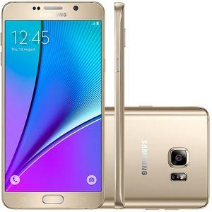 Samsung-Galaxy-Note-5-Dourado-32GB-Android-5-1-16MP-4G-SM-N920-G