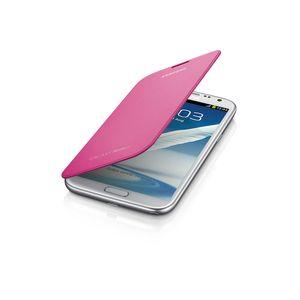 Capa-Flip-Cover-Galaxy-Note-II-Rosa-Samsung-EFC-1J9FPEGSTD