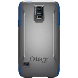 Capa-Protetora-Commuter-para-Galaxy-S5-Cinza-com-Azul-Otterbox-OT-39180I
