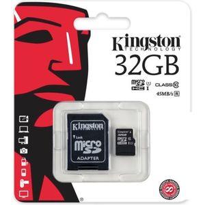 Cartao-de-Memoria-Micro-SD-32GB-Class-10-Adaptador-SD-Kingston-KINSDSISD1032G2A