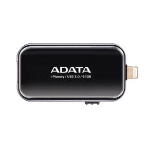 Pen-Drive-para-iPhone-64GB-i-Memory-Preto-Adata-AUE710-64G-CBK-11750