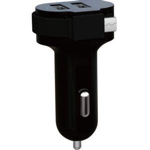 Carregador-Veicular-2-USB-1-Micro-USB-Preto-Easy-Mobile-CARVSMT6MPR