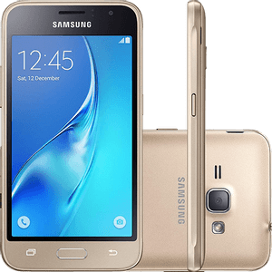 Samsung-Galaxy-J1-2016-Dual-Chip-Android-5.1-Tela-4.5--8GB-Wi-Fi-3G-Camera-5MP-Dourado---SM-J120-G