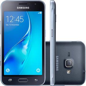 Samsung-Galaxy-J1-2016-Duos-Dual-Chip-Android-5.1-Tela-4.5--Memoria-8GB-Wi-Fi-3G-Camera-5MP-Preto---SM-J120-BK