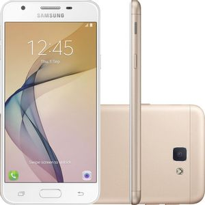 SamsungGalaxyJ7PrimeDualChipAndroidTela5532GB4GCamera13MPDouradoSMG610MG
