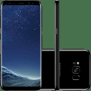 SamsungGalaxyS8DualChipAndroid70Tela58OctaCore23GHz64GB4GCamera12MPPretoSMG950BK