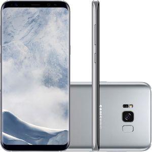 SamsungGalaxyS8PlusDualChipAndroid70Tela62OctaCore23GHz64GBCamera12MPPrataSMG955S