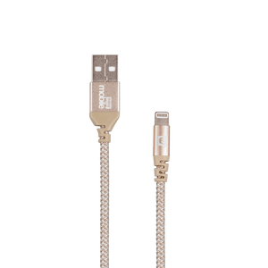 Cabo-Lightning-e-Micro-USB-Force-2.0M-Dourado---Easy-Mobile-CBFORCL2MDD