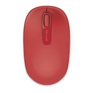 Mouse-Wireless-Mobile-1850-Vermelho-Microsoft