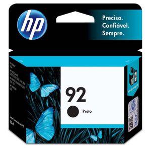 Cartucho-de-Tinta-HP-92-Preto