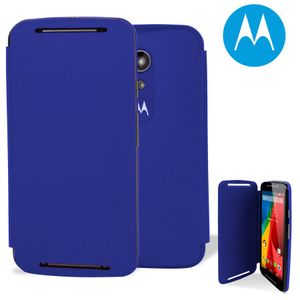 Capa-Flip-Shells-Azul-para-Moto-G-2ª-Geracao-Motorola-89744N
