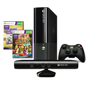 Console-Xbox-360-4GB-com-Kinect---2-Jogos-Microsoft-N7V-00112
