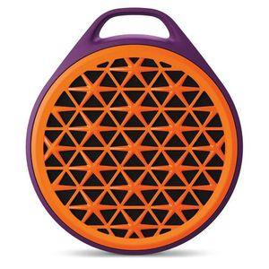 Caixa-de-Som-X50-Bluetooth-Portatil-Laranja-Logitech