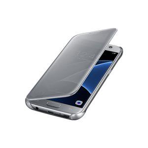 Capa-Clear-View-Cover-Prata-Galaxy-S7---Samsung