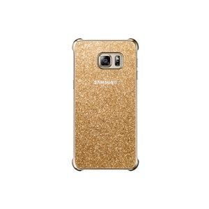 Capa-Protetora-Glitter-Galaxy-S6-edge--Dourada-Samsung
