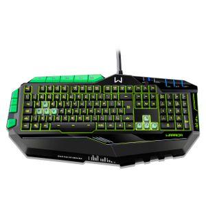 Teclado-Gamer-Profissional-Com-LED-Usb-Preto-E-Verde---Multilaser-Tc199