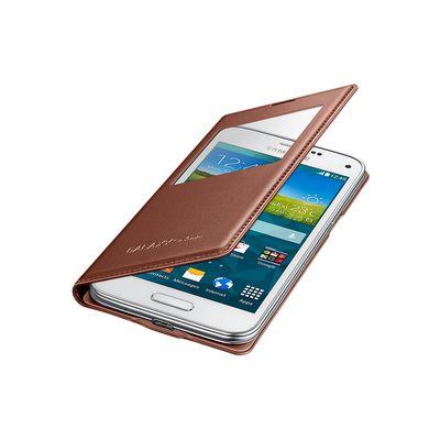 Capa-S-View-Galaxy-S5-Mini-Bronze---Samsung-EF-CG800BFEGBR