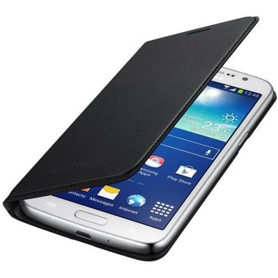 Capa-Flip-Wallet-Galaxy-Gran-2-Duos-Preta---Samsung-EFWG710BBE