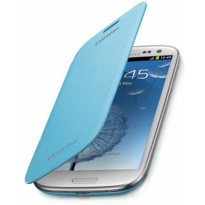 Capa-Flip-Cover-Azul-Claro-para-Galaxy-S3-Samsung-EFC-1G6FLECSTD