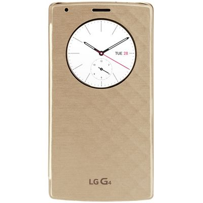 Capa-para-LG-G4-Quick-Circle-Dourada-LG-CFV100GDI