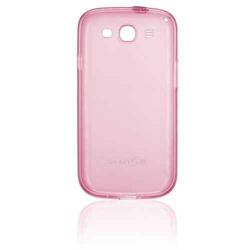 ee27f803b08 Capa de Silicone Slim Rosa para Galaxy S3 - Samsung EFC-1G6WPECSTD ...